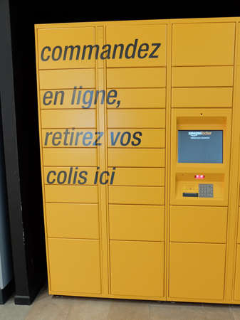 Amazon Locker is an Amazon service allowing customers of the brand to collect their orders in automatic lockers installed in physical spaces