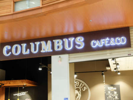 Colombus Cafe. Columbus Caf? & Co is a chain of French coffee shops founded in 1994. They also serve snacks
