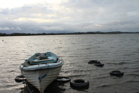 lough: Irish lake with boats