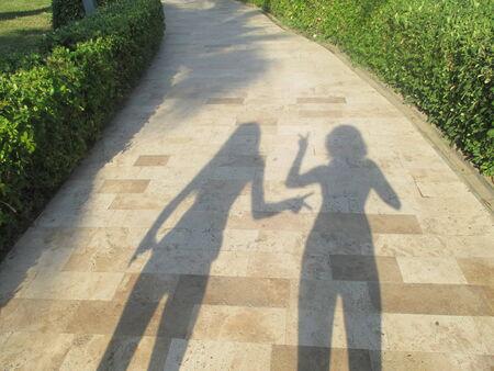 louder: shadows speak louder than words