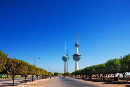 koweit: Ces structures beaux ensembles architecturaux sont des ic�nes de la ligne d'horizon la ville de Kowe�t Editeur