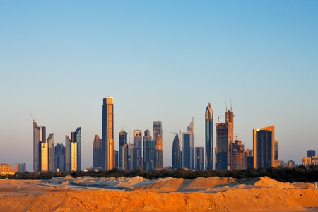 Dubai was just desert just 30 years ago, now it is home to many of the tallest skyscrapers in the world  Image taken May 2010