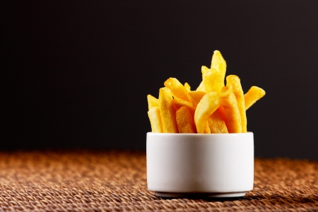 french fried potato: Chips, also known as French Fries are more British than French