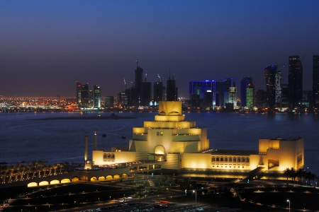 Doha the capital of Qatar is becoming a new and exciting city in the middle east for modern architecture