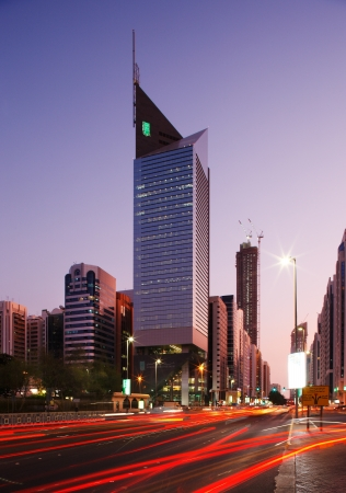 Abu Dhabi is becoming a city of tall towers and bust traffic trails