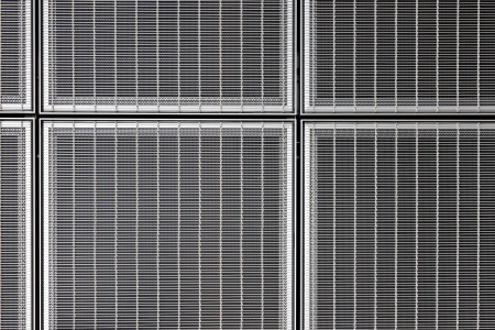 This abstract stainless steel grid forms a wonderful industrial graphic art composition photo