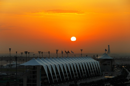 behold: Sunrise over Abu Dhabi is a sight to behold