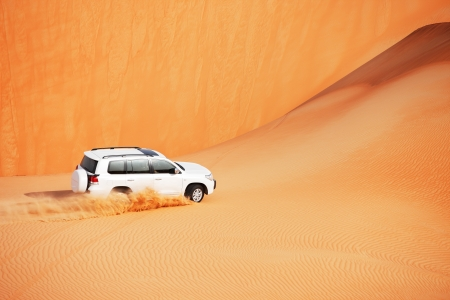 4x4: 4x4 dune bashing is a popular sport of the Arabian desert