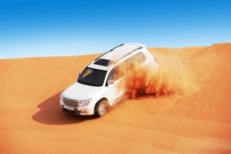 4x4 dune bashing is a popular sport of the Arabian desert