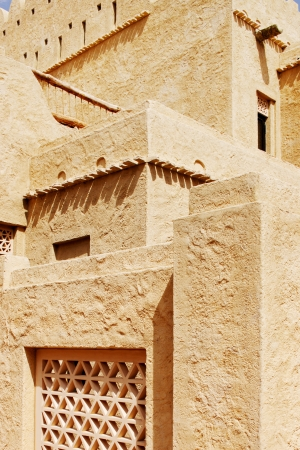 global retirement: Beautiful detailing of arabesque architecture in the Gulf Peninsula