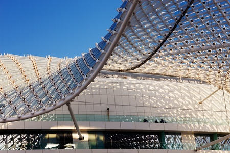 The grid shell of the Yas Hotel has become an iconic symbol of Abu Dhabi s Grand Prix Editorial