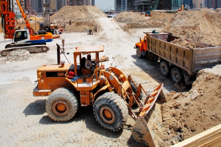 dug: Construction continues unabated in Doha Qatar, in preparation for the 2022 World Cup