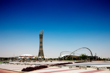 qatar: The Aspire Stadium and  tower served as the focal point for the 15th Asian Games hosted by Qatar in December 2006, and is said to pay a central role in the 2022 World Cup