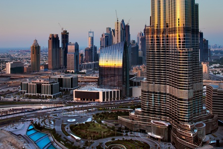 Dubai has been transformed in just one decade  It has become known as a playground for architects, such is the variety and number of spectacular towers