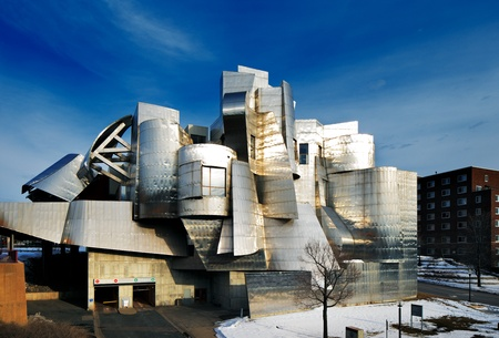 minnesota: Weisman Art Museum is located on the University of Minnesota campus in Minneapolis, USA, designed by architect Frank Gehry, was completed in 1993