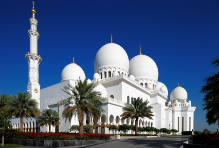 Sheikh Zayed Grand Mosque, Abu Dhabi is the largest in the UAE and the 3rd largest mosque in the world It is the key place of worship for Friday gathering and Eid prayers in UAE