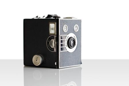 Vintage film box camera  photo