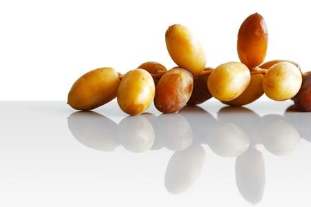 date palm: Dates  Stock Photo