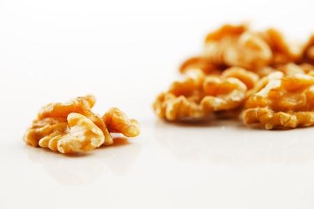 Walnut seeds Stock Photo