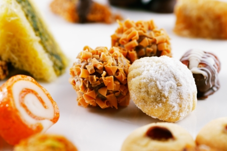 Arabic sweets are a celebratory treat of the middle eastern countries  They are very popular during Ramadan and Eid