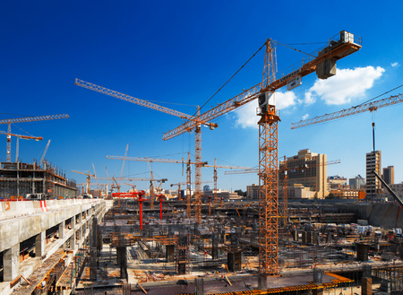 Construction continues unabated in Doha, Qatar, in preparation for the World Cup in 2022 Editorial