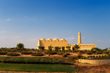 Doha, Qatar  Formally known as  Mohammed Bin Abdulwahab Mosque, it is better known as The Grand Mosque