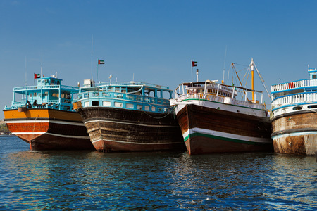 Dubai, UAE  Deira Creek still remains a significant trading hub for goods traded between Iran and The Arabian Peninsula