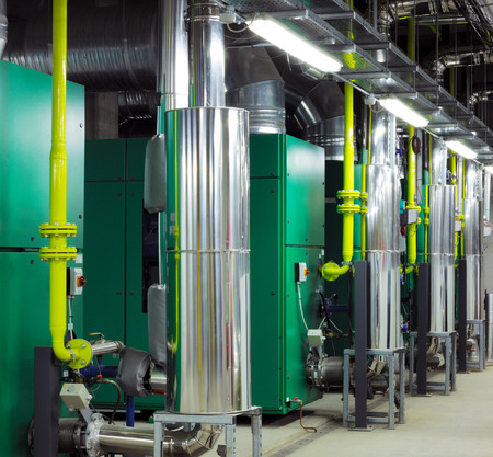efficiently: Mechanical and electrical plant rooms are are a highly sophisticated centers for efficiently controlling heating and cooling of modern buildings