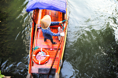 zhouzhuang: Zhouzhuang, is one of the most famous water townships in China, noted for its profound cultural background. It has been called the  Venice of the East  Stock Photo