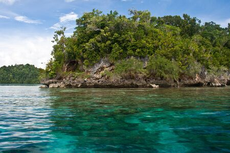 sulawesi: Crystal clear sea at the Togean Islands, Sulawesi, Indonesia