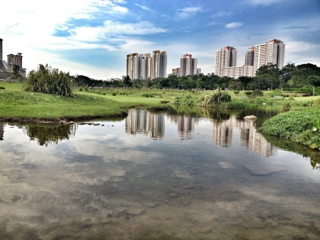 Bishan park in Singapore Stock Photo - 21504034