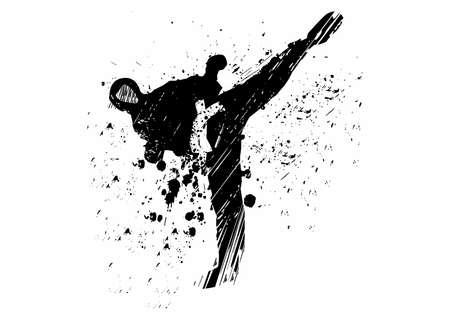 Taekwondo, Tae Kwon Do or Taekwon-Do - modern Korean martial art.