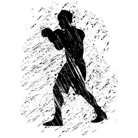 Boxing is a combat sport that takes place in the boxing ring.