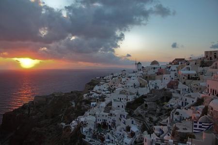Oia in Greece (Santorini, Cyclades) photo