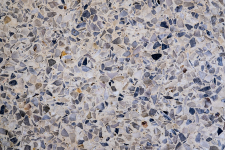 a stone floor with inlaid pieces of marble Reklamní fotografie