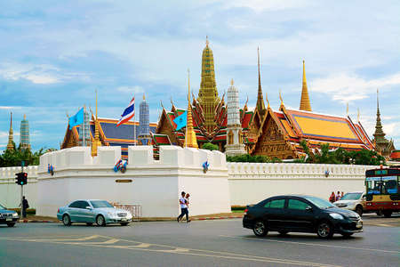 bangkok: Grand palace for bangkok,thailand Stock Photo