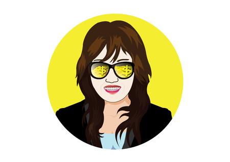 lingot or: affaires avec des lunettes visible pi�ce d'or et lingots