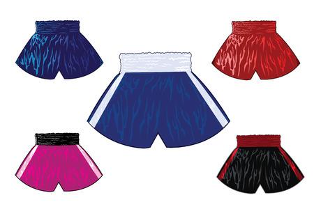 boxing boy: boxing shorts set