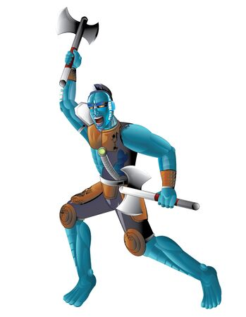 character design: Bushman - Character Design