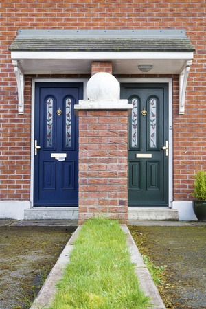 Similar but different entrance door to British  Irish House photo