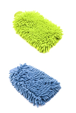 Two Rags which can be used as duster and to wash body Stock Photo - 13234730
