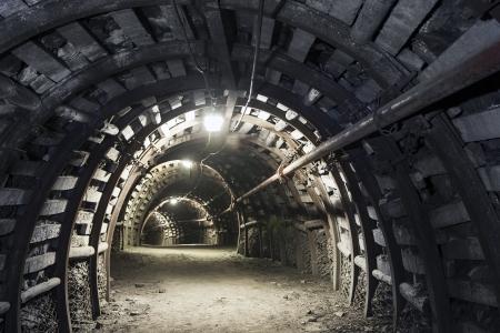 トンネル: 照らされた、地下トンネル、Minery で