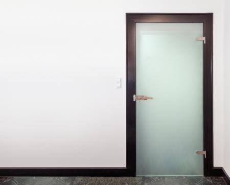 porte bois: Porte en verre moderne - bois et verre glac�