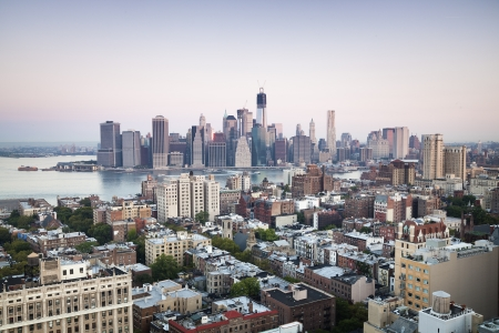 NYC - view from Brooklyn Hights on Manhattan photo