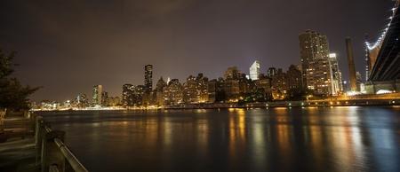 Photo taken from Roosevelt Island to Midtown of Manhattan
