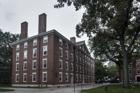 harvard university: Harvard University Building - one of most prestigious university all over the world Editorial