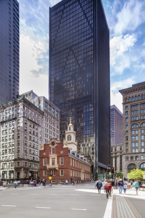 Old State House in Boston, Massachusetts, USA