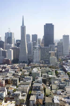 Panorama of San Francisco, California, USA Stock Photo - 16910270