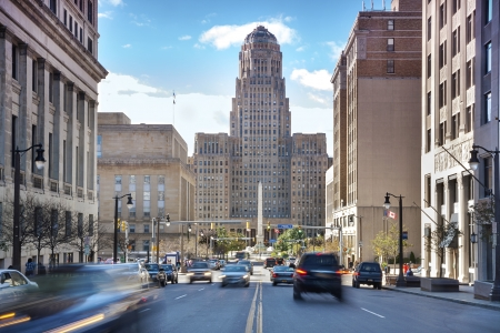 Buffalo is the second most populous city in the state of New York, behind New York City  新闻类图片