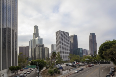 Financial District in Los Angeles, California Stock Photo - 17119147